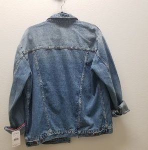 Free People Jackets & Coats - Free People Ramona Oversized Boyfriend Jean Jacket